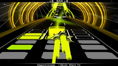 Audiosurf screenshot