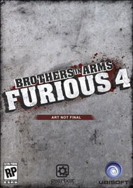 Brothers in Arms: Furious 4 Box Art