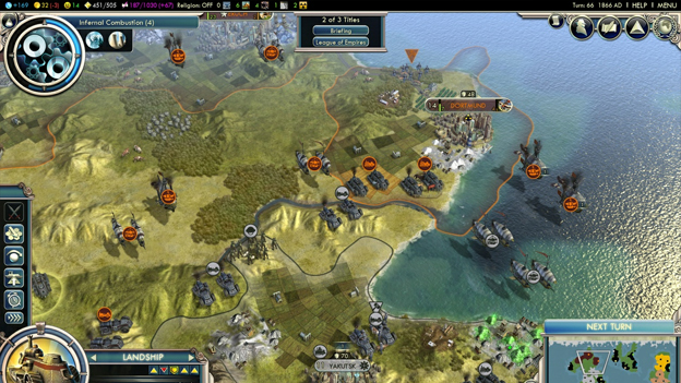 Civilization V: Gods and Kings Screenshot