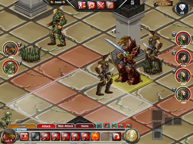 Dungeons & Dragons: Heroes of Neverwinter Screenshot
