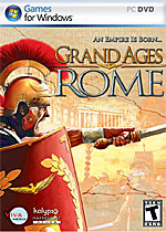 Grand Ages: Rome box art