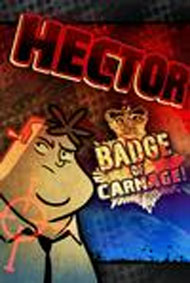 Hector: Badge of Carnage: We Negotiate with Terrorists Box Art