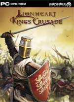 Lionheart: King's Crusade box art