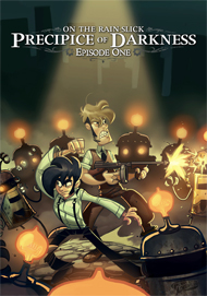 Penny Arcade's On the Rain-Slick Precipice of Darkness 3 Box Art