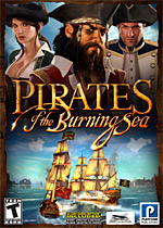 Pirates of the Burning Sea box art
