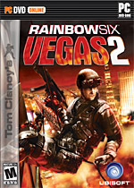 Tom Clancy's Rainbow Six: Vegas 2 box art