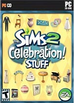 The Sims 2: Celebration Stuff Expansion box art
