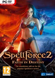 SpellForce 2: Faith in Destiny Box Art