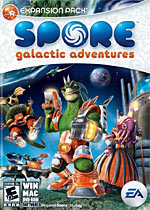 Spore: Galactic Adventures box art