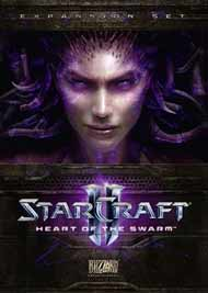 StarCraft II: Heart of the Swarm Box Art