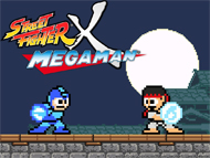 Street Fighter X Mega Man Box Art