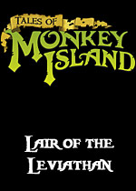 Tales of Monkey Island Chapter 3: Lair of the Leviathan box art