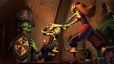 Tales of Monkey Island Chapter 4: The Trial and Execution of Guybrush Threepwood  screenshot