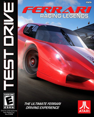 Test Drive: Ferrari Racing Legends Box Art