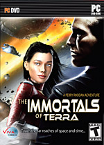 The Immortals of Terra: A Perry Rhodan Adventure box art