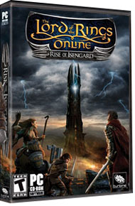 The Lord of the Rings Online: Rise of Isengard Box Art