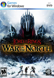 The Lord of the Rings: War in the North Box Art
