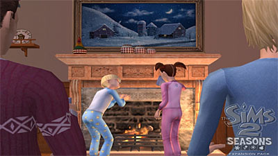The Sims 2: Seasons Expansion Pack screenshot