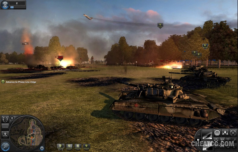 Game patches: world in conflict update (v 1. 000 to v 1. 009.
