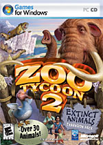 Zoo Tycoon 2: Extinct Animals box art