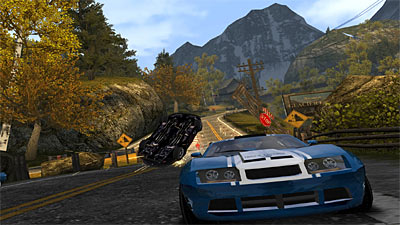 Burnout Dominator screenshot