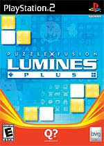 Lumines Plus box art