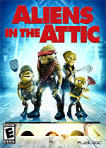 Aliens in the Attic box art