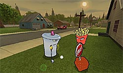 Aqua Teen Hunger Force: Zombie Ninja Pro-Am screenshot