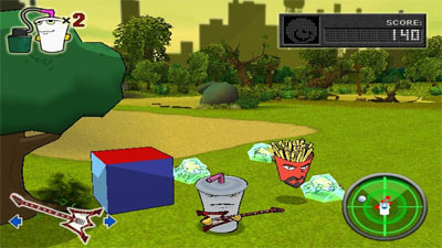Aqua Teen Hunger Force: Zombie Ninja Pro Am screenshot