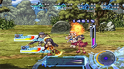 Ar Tonelico II: Melody of MetaFalica screenshot