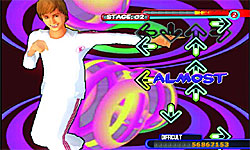 Dance Dance Revolution: Disney Channel Edition screenshot
