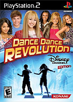 Dance Dance Revolution: Disney Channel Edition box art
