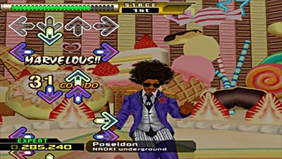 Dance Dance Revolution X screenshot