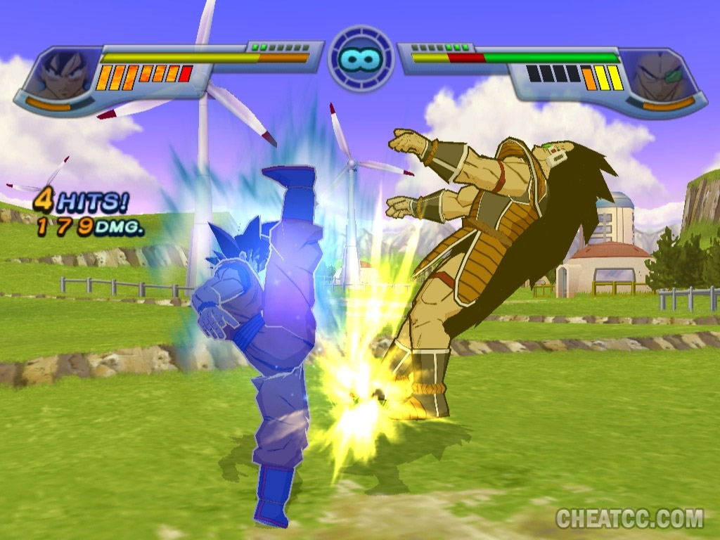Top page gt gt infinite -  Dragon Ball Z Infinite World Screenshot Click To Enlarge