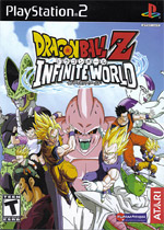Dragon Ball Z: Infinite World box art