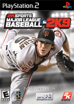 Major League Baseball 2K9 box art