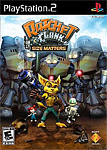 Ratchet & Clank: Size Matters box art