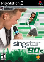 Singstar '90s box art