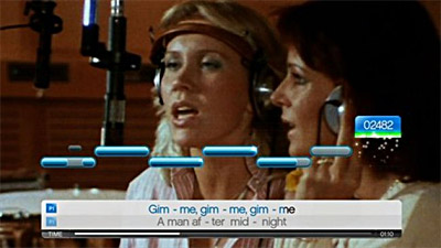 SingStar ABBA screenshot