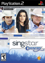 SingStar Country box art