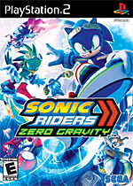 Sonic Riders: Zero Gravity box art
