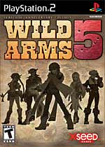 Wild Arms 5 box art