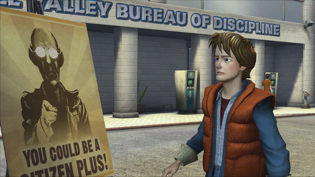 Back to the Future: The Game - Episode 3: Citizen Brown Screenshot