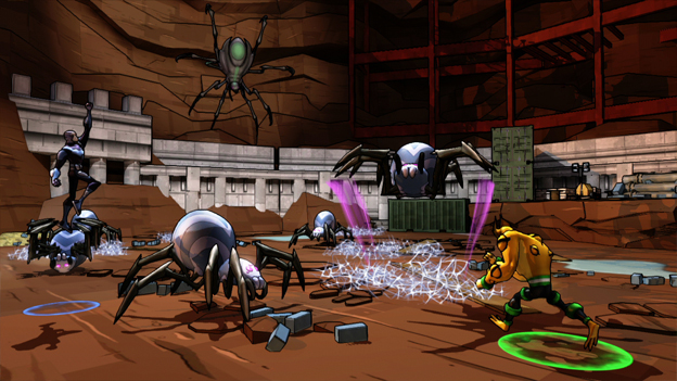 Ben 10 Omniverse: The Video Game Screenshot