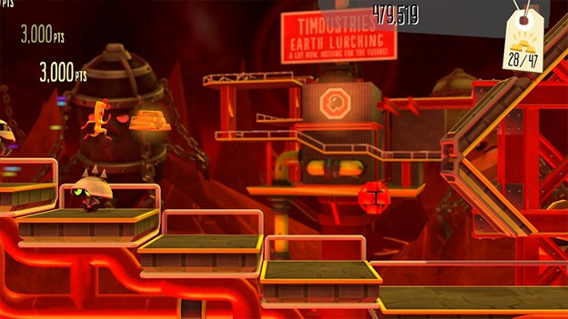 BIT.TRIP Presents... Runner2: Future Legend of Rhythm Alien Screenshot