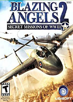 Blazing Angels 2: Secret Missions box art