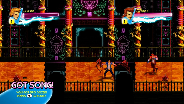Double Dragon Neon Screenshot