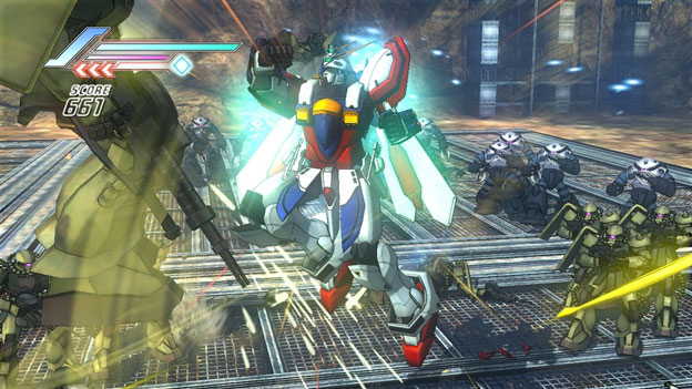 Dynasty Warriors: Gundam 3 Screenshot