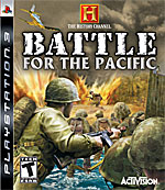 The History Channel: Battle for the Pacific box art