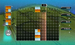 Lumines Supernova screenshot